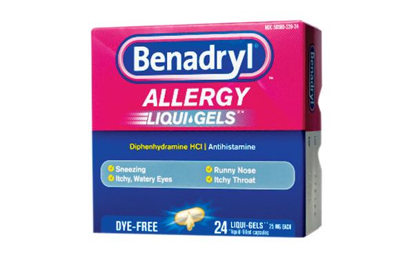 Non-Drowsy Benadryl