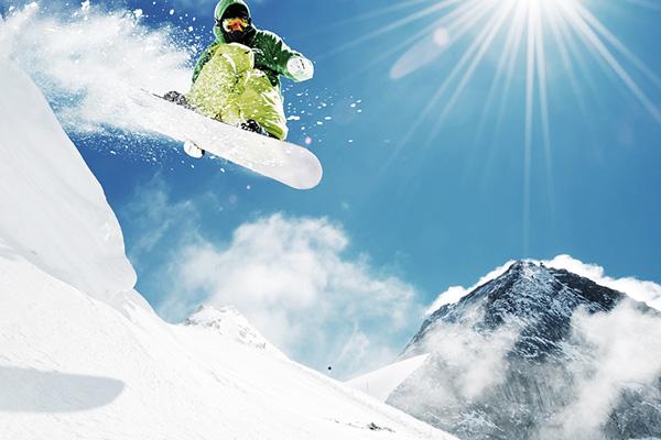 snowboarding guy