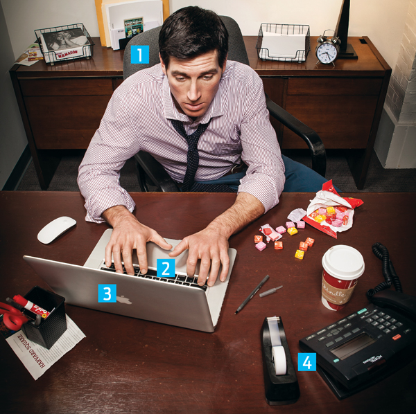 healthy at work habit lifestyle
