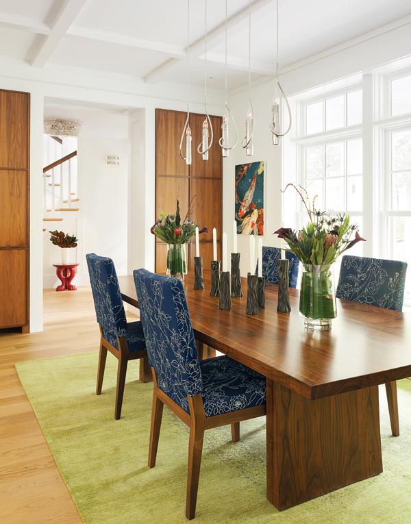 weston home renovation dining room