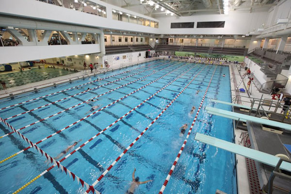 Indoor Swimming Pool Gym boston's best college and university gyms and fitness facilities