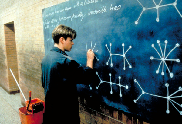 good will hunting scene