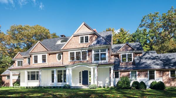 weston home renovation exterior