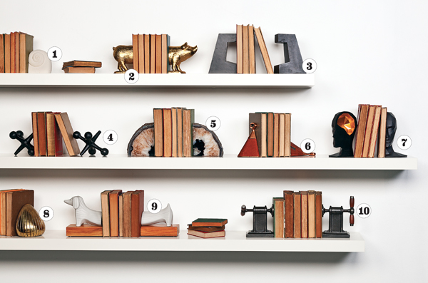 10 perfect bookends