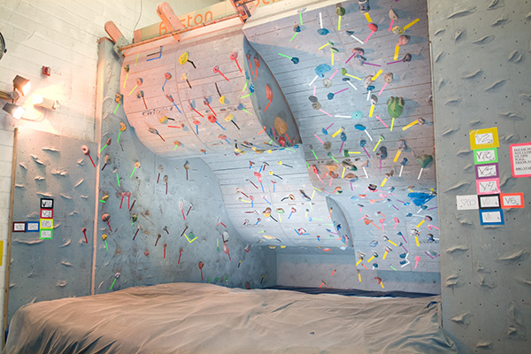 rock climbing gym Boston