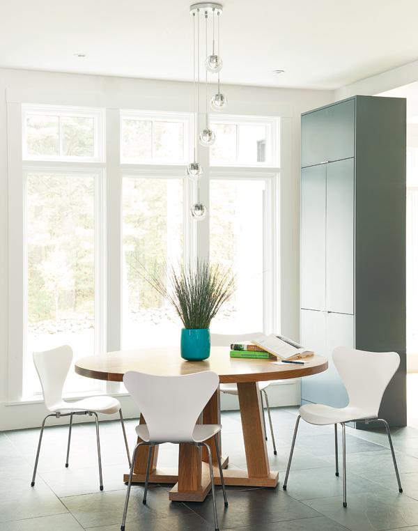 weston home renovation breakfast nook