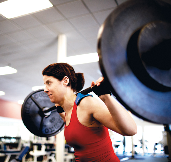 women weightlifting