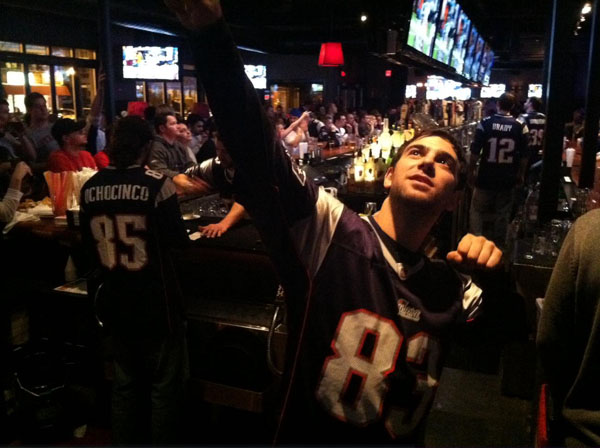 Tavern in the Square sports fan