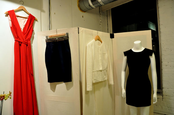 Bow & Drape Winter Collection