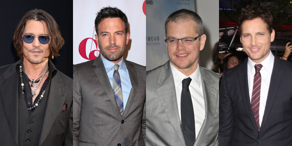 johnny depp ben affleck matt damon peter facinelli