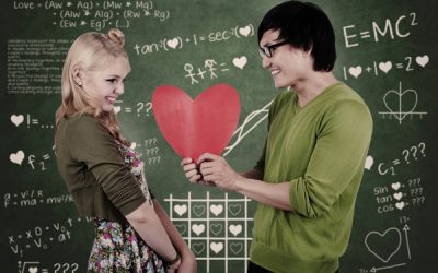 nerdy valentine couple