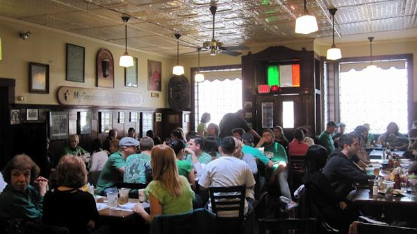 Doyle's Cafe on St. Patrick's Day