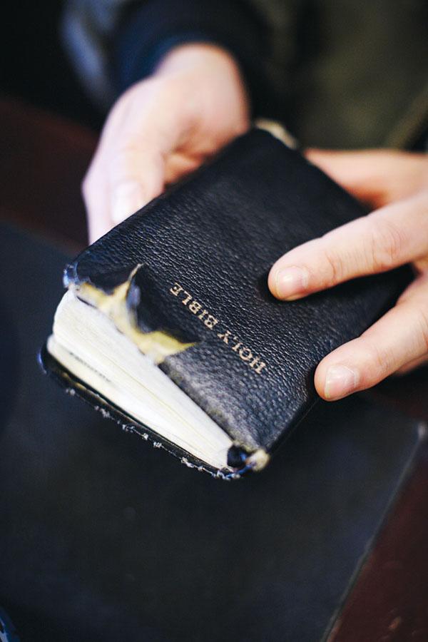 Scott Lively holding bible