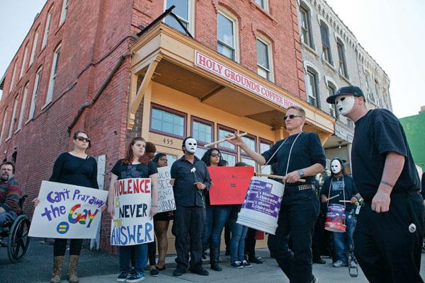 Anti-Scott Lively Protest