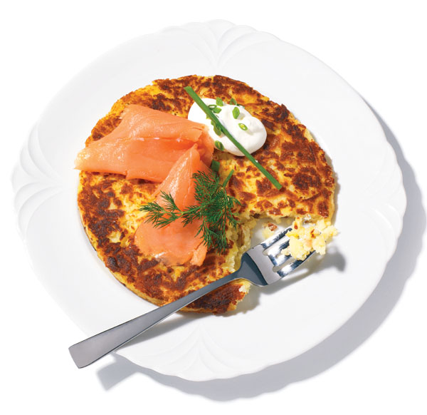 roesti swiss potato pancake