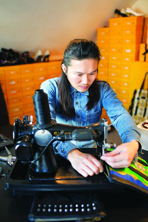 accessories designer Zack Lo