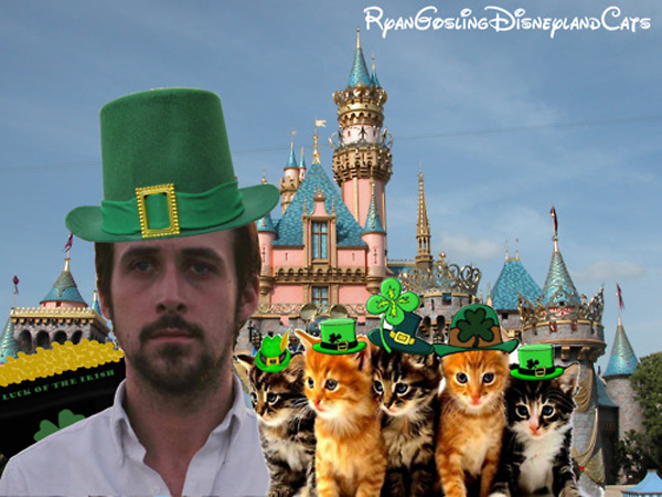 Ryan Gosling Disney Cats