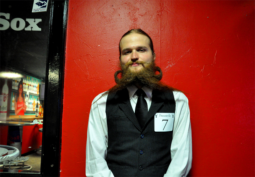 Jeremy, a Freestyle competitor and member of the Boston Beard Bureau.