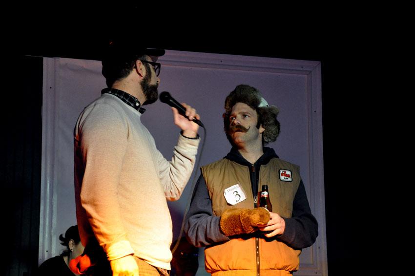 Fredrickson, winner of the Mustache category.