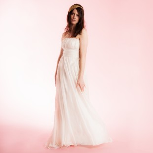 Fair-trade wedding gowns from Celia Grace