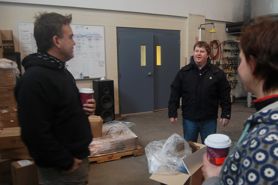 Dann Paquette and Harry Smith of Buzzards Bay Brewery