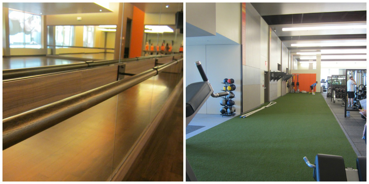 Barre and AstroTurf