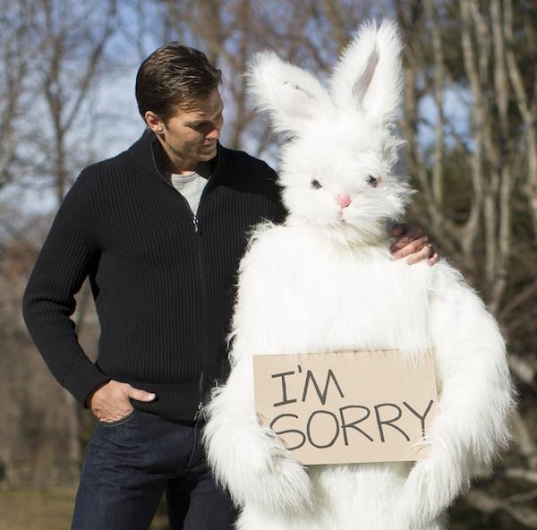 Tom Brady Easter Bunny