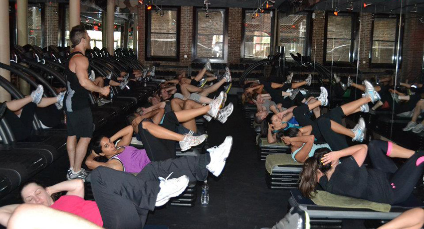 Photo via Barry's Bootcamp NYC Facebook