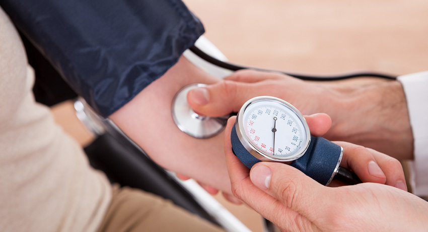 Blood pressure photo via Shutterstock