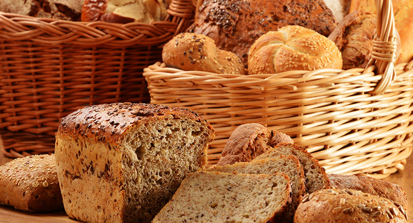 Definitely not gluten-free breads. Photo via Shutterstock