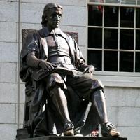 John Harvard, Fall