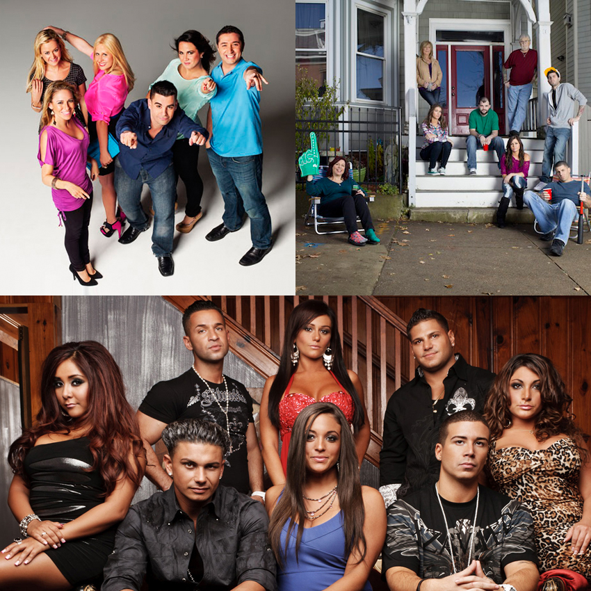 Boston New Jersey reality tv shows