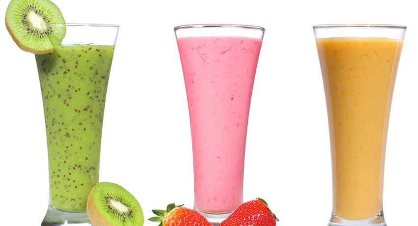 Smoothies image via Shutterstock