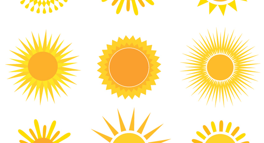 We'll take just one of these right now. Sun illustration via Shutterstock