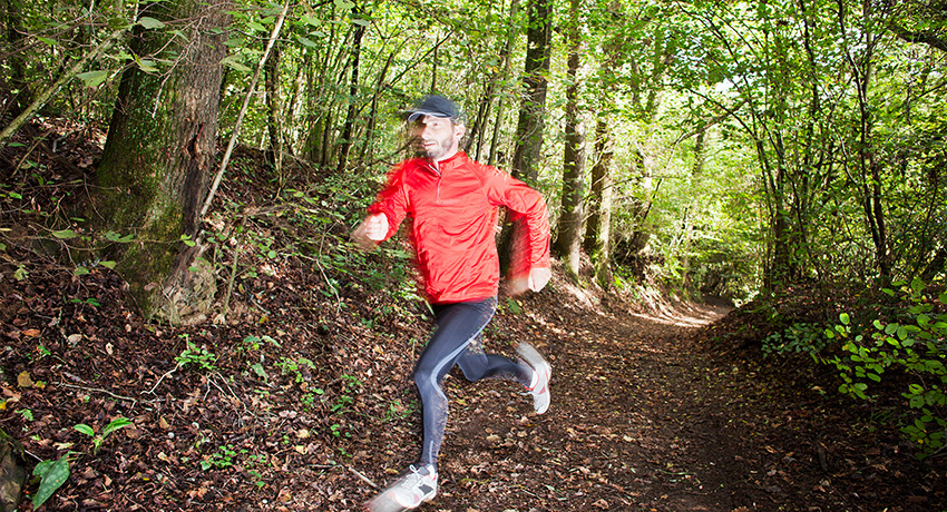 Trail runner photo via Shutterstock