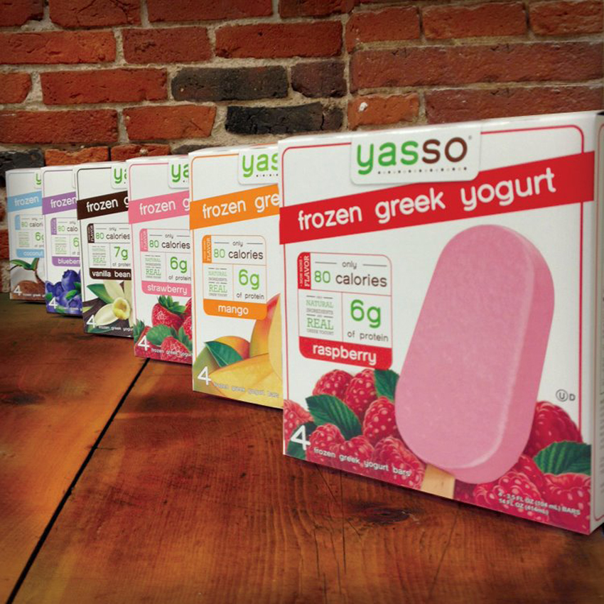 Yasso Frozen Greek Yogurt