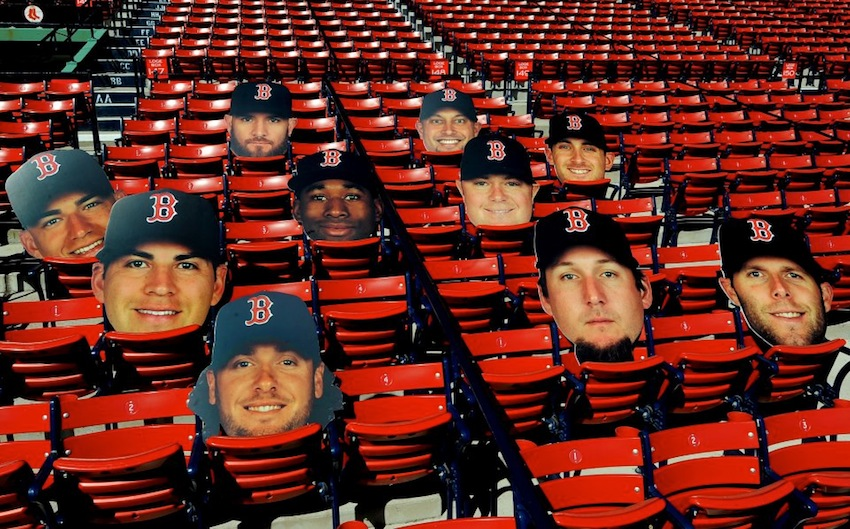 Photo via Red Sox on Facebook.