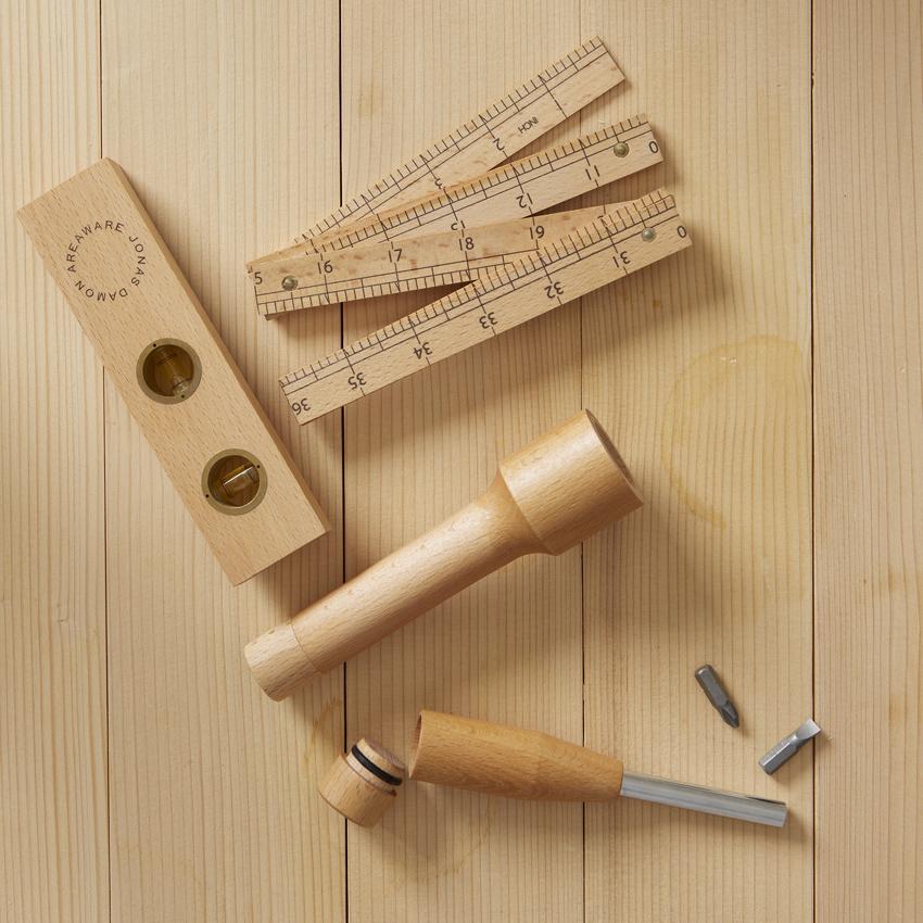 Areaware Wood Tool Set, $95. (Photo courtesy of West Elm Market)