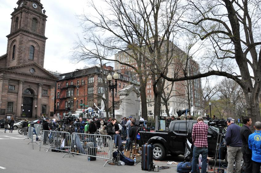 boston marathon bombings, media