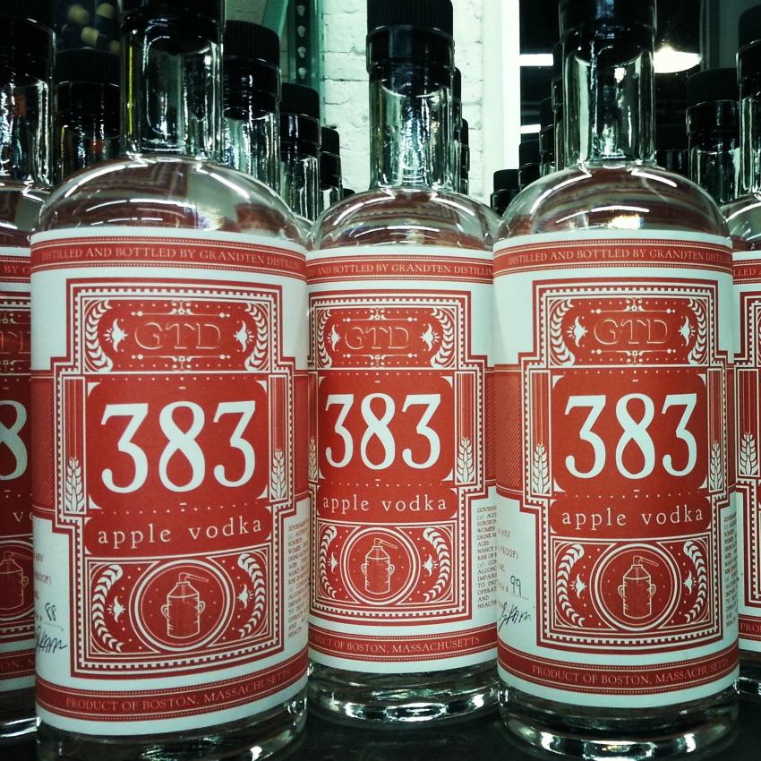 Grand Ten Distilling apple vodka