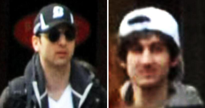 new photos of boston marathon bombing suspects