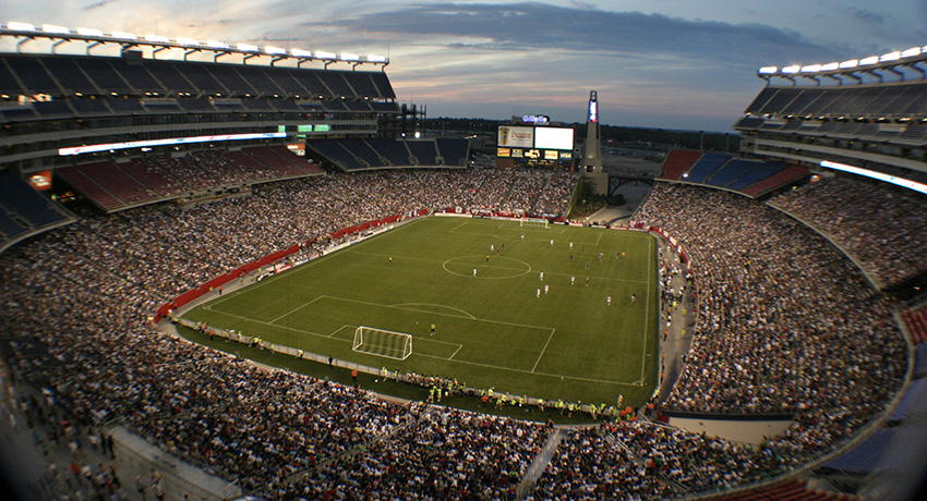 A Revs game. Photo provided.
