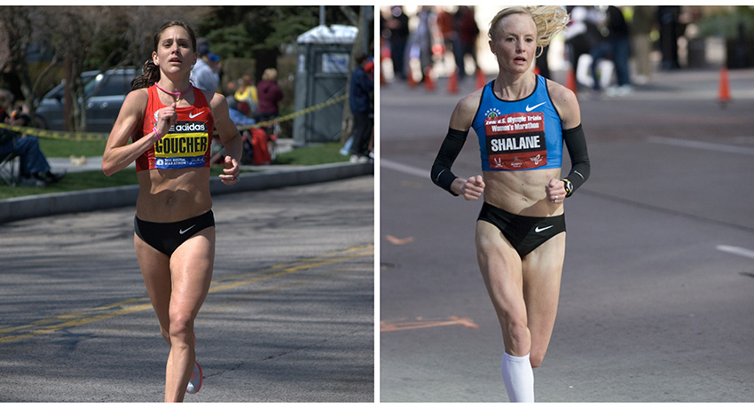 Kara Goucher image via Michalk / Shutterstock.com. Shalane Flanagan image via Flickr/Saroy.