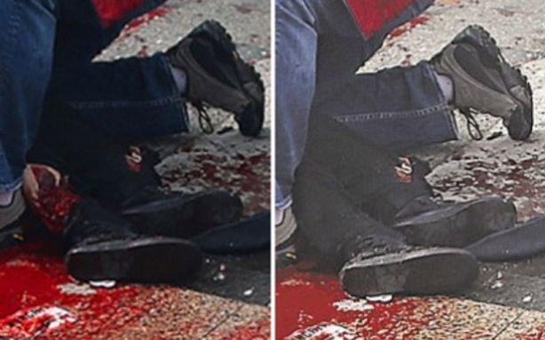 Manipulação: Tabloide de Nova Iorque manipula imagem do atentado de Boston
