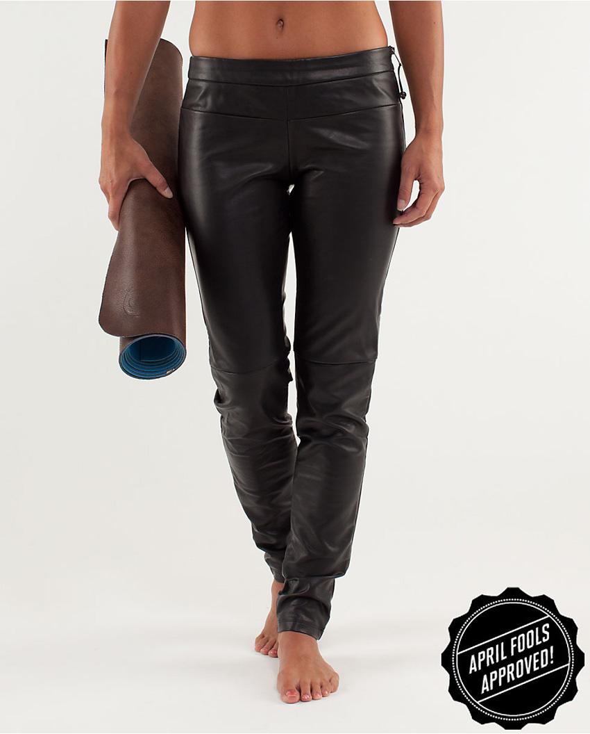Cowabunga yoga pants definitely aren't too sheer. (Photo via Lululemon Athletica)