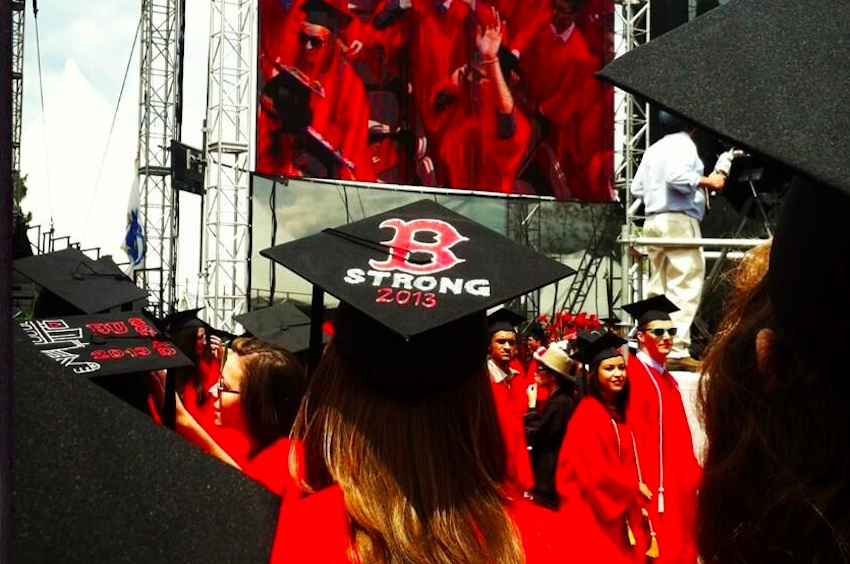 Boston Students Get Creative With Graduation Caps