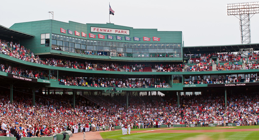 Fenway Park photo via Joyce Vincent / Shutterstock.com