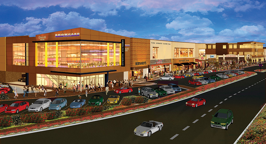 The Chestnut Hill mall is getting a healthy makeover. (Photo provided.)