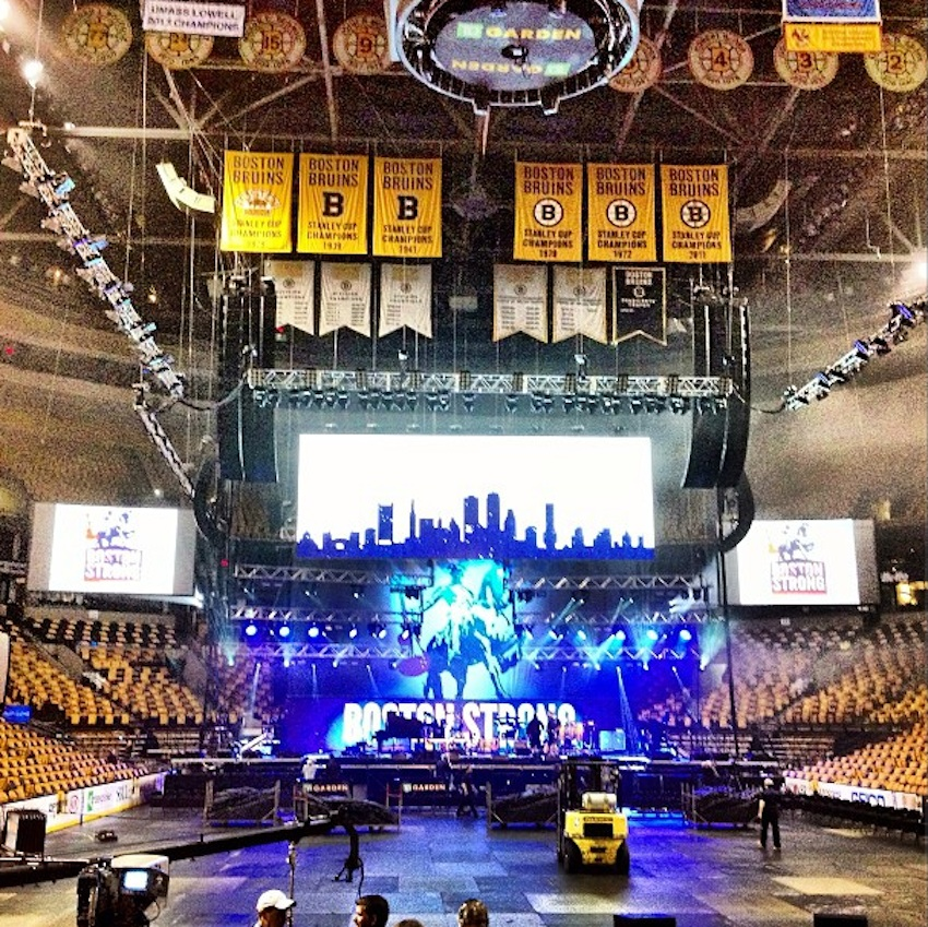 Photo Via TD Garden On Instagram.