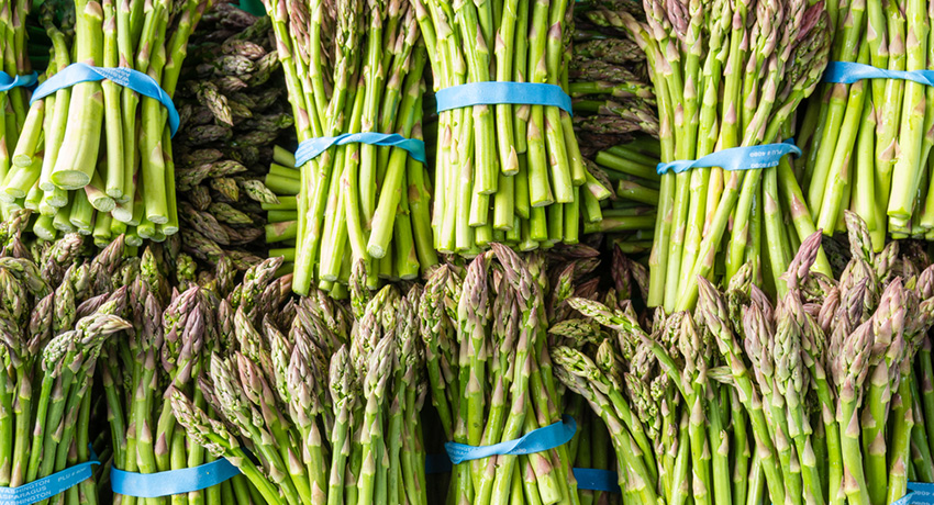 Try one of these asparagus recipes this summer. Photo via shutterstock.